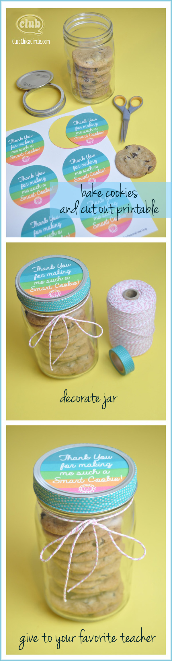Smart Cookie Teacher Appreciation Gift DIY