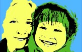 Warhol Pop Art Family