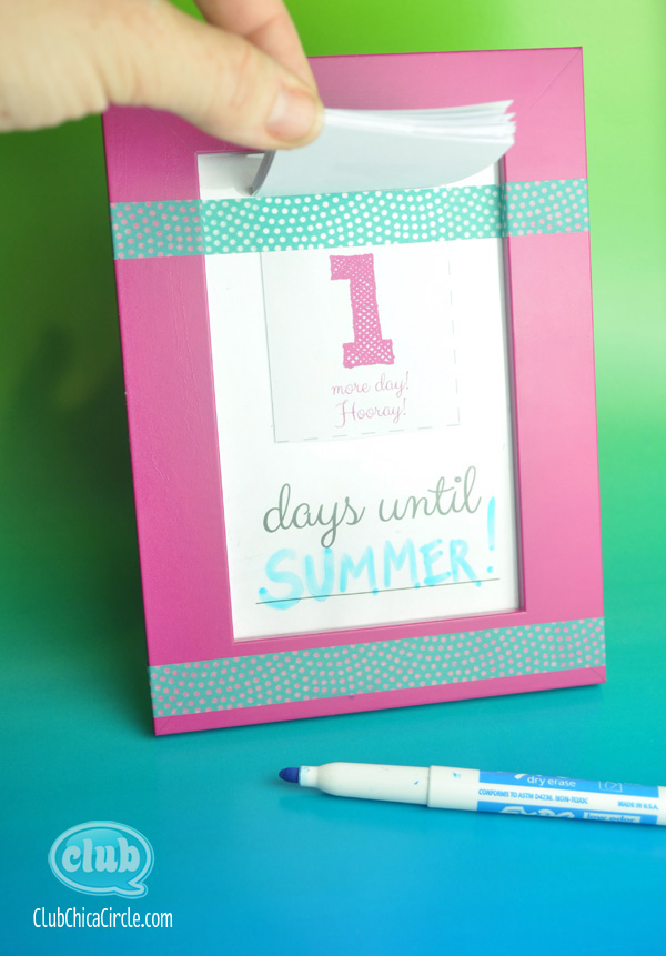 Diy Countdown Calendar : Make your own countdown calendar and notepad