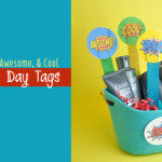 Super Dad Father's Day Printable tags feature
