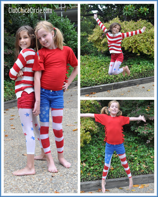 4th Of July Tween Fashion Craft Idea