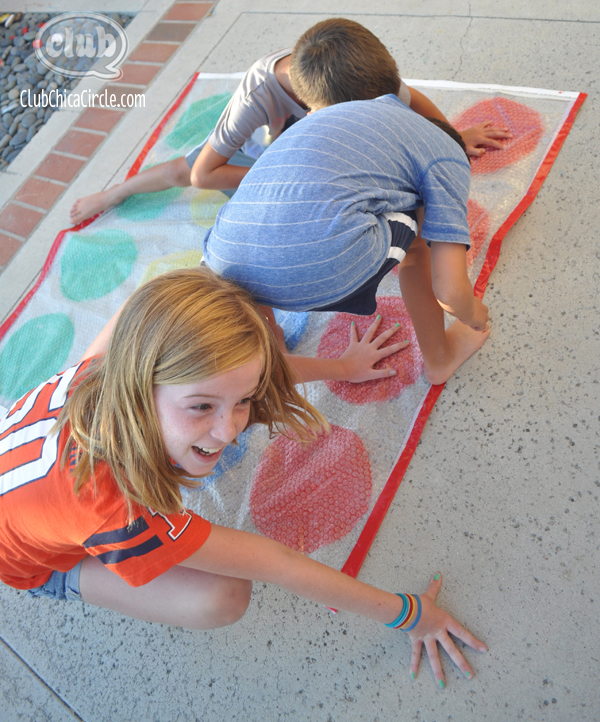 homemade bubble twister game @clubchicacircle
