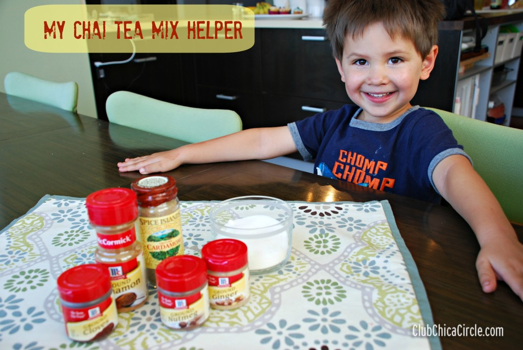 Chai Tea Mix Helper