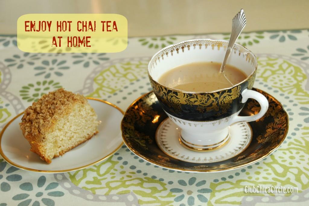Hot Chai Tea