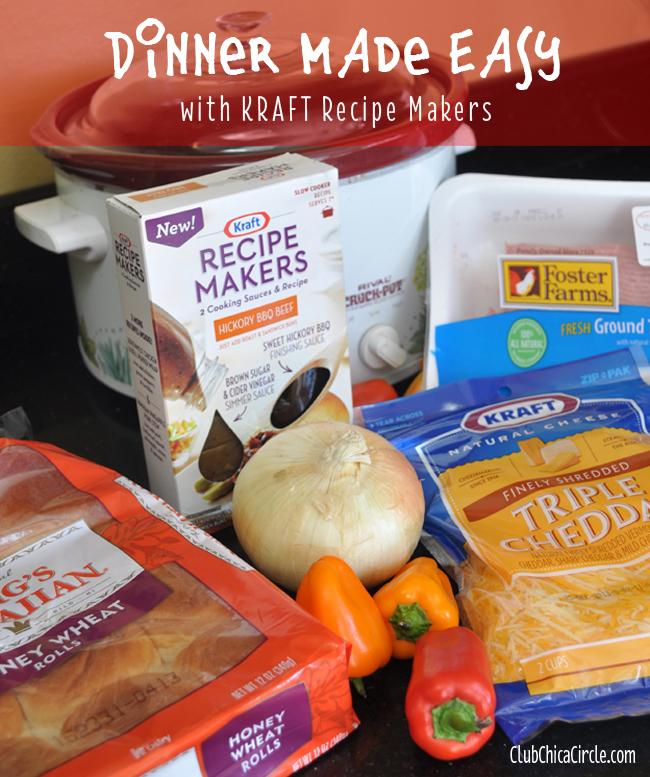 Kraft recipe makers hickory BBQ recipe idea