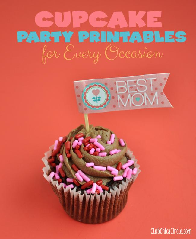 best mom free cupcake printable