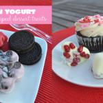 homemade frozen yogurt shaped treats DIY
