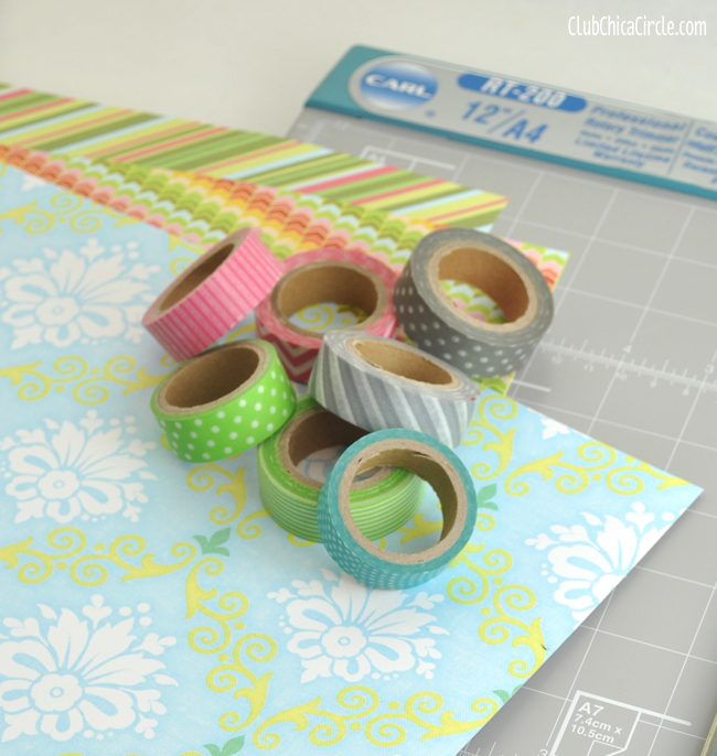 washi tape crafting