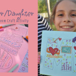 Mother-daughter self-esteem craft activity with Dove