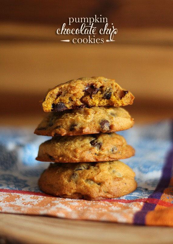 pumpkinchocchipcookies