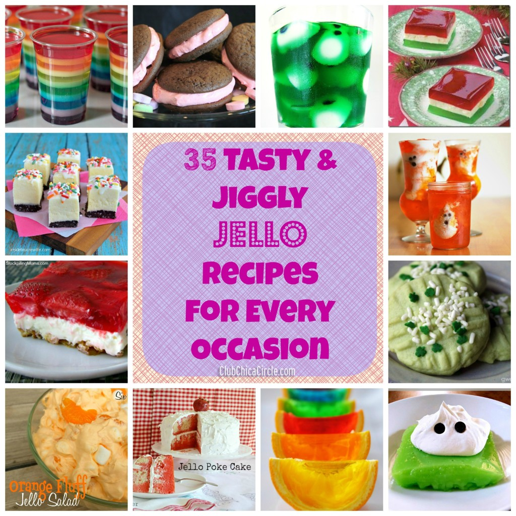 35 Jiggly Jello Recipes