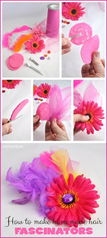 Fashion fascinator craft tutorial @clubchicacircle