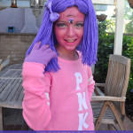 Monsters U sorority homemade costume DIY