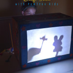 PomTree Kids Shadow Box TV Kids Craft Idea