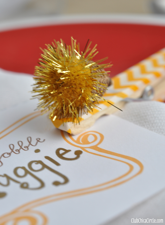 Acorn Pom Pom Craft Idea