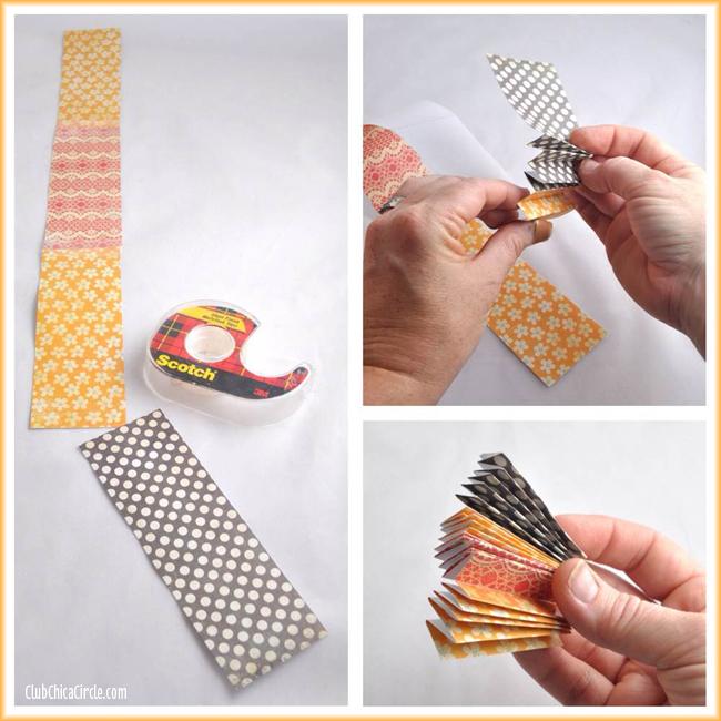 Paper Flower Thanksgiving Turkey Craft DIY