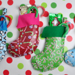 Duck Tape Holiday Stocking Craft Idea @clubchicacircle