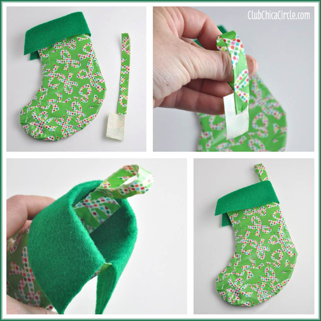 How to Make a Duck Brand® Tape Holiday Stocking