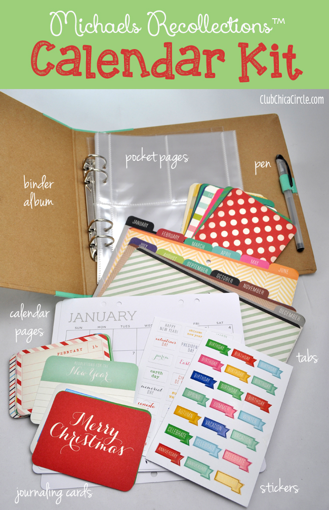 Blank Calendar Kit : Best holiday gift idea for grandma michaels