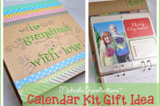Michaels Recollections Album Calendar Gift Idea for Grandma @clubchicacircle