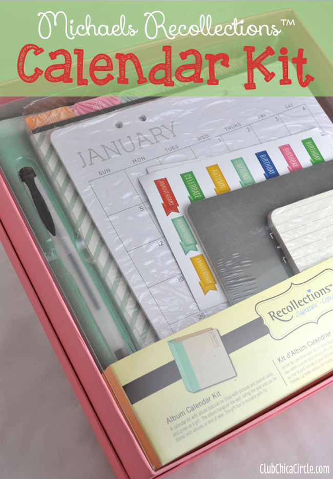 Calendar Kit Ideas : Best holiday gift idea for grandma michaels
