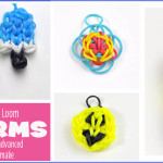 7 Rainbow Loom charms