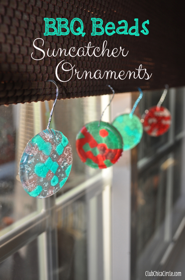 Bbq beads suncatcher craft idea for Bead craft ideas for kids