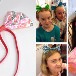 Duck Tape Hair Bows Party Craft for Tween Girls