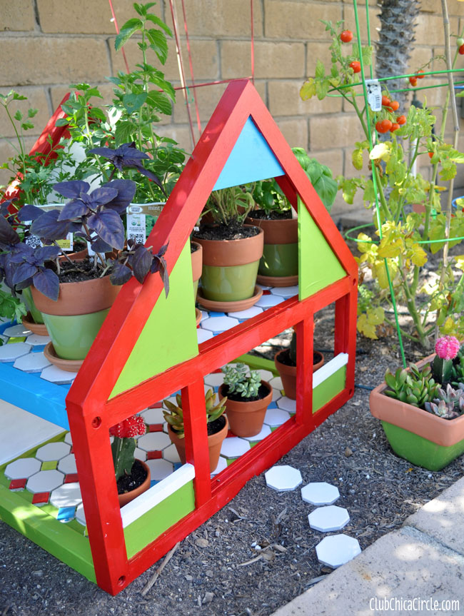 Upcycle Dollhouse Herb Garden DIY