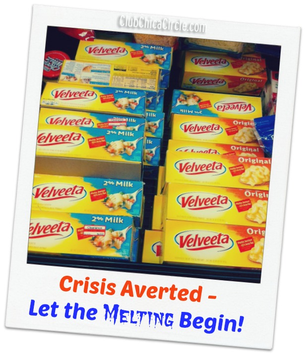 Velveeta Cheesepocalypse Crisis Averted