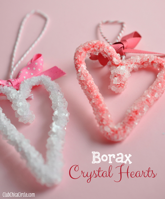 borax crystal hearts tutorial