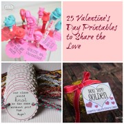 25 Valentine's Day Printables to Share the Love