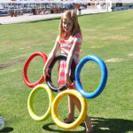 Olympic Themed Birthday Party Pool Noodle Olympic Rings