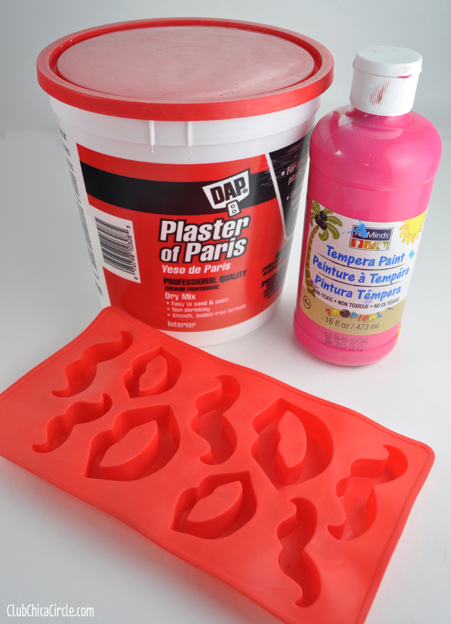 Plaster of Paris Paperweight supplies