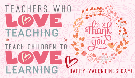 Bewitching image regarding printable valentine cards for teacher
