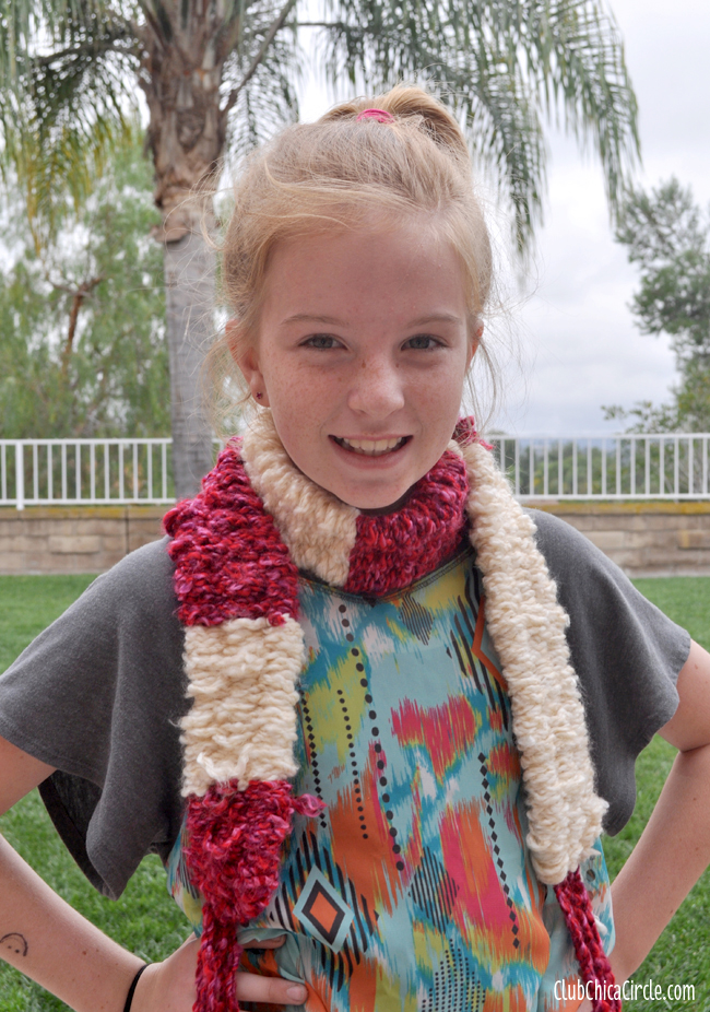 Easy Homemade Scarf Idea for Tweens