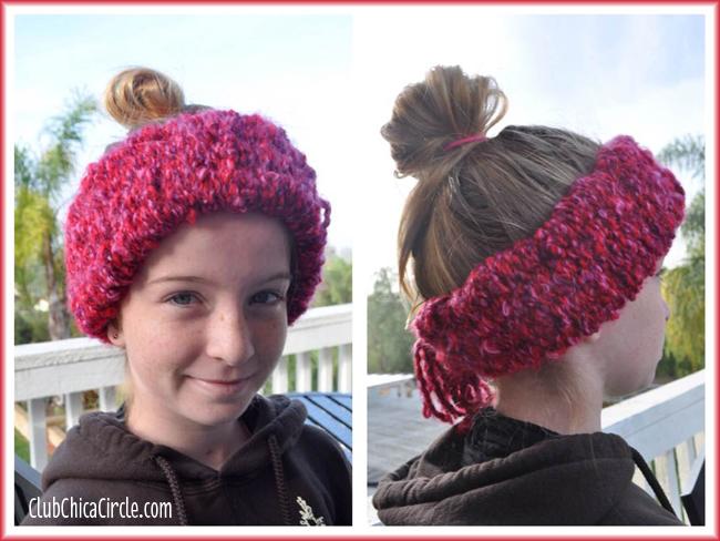 Homemade headscarf DIY for kids