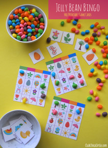 Jelly Bean Bingo Free Printable Game Cards