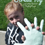 Softest Playdough Stress Toy Hand Craft idea for kids