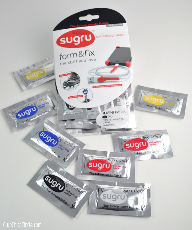 Sugru self setting rubber for craft and DIY fixes
