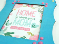Homemade Mother's Day Frame and Gift DIY