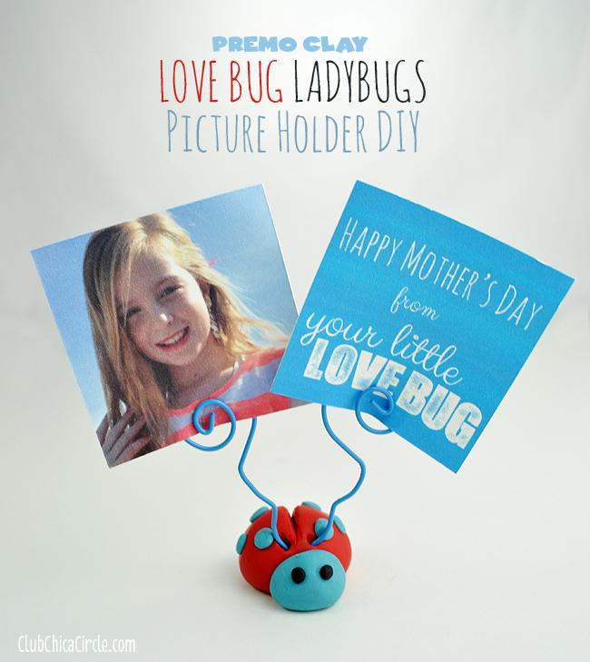 Mother's Day Homemade Gift Idea and Picture holder DIY