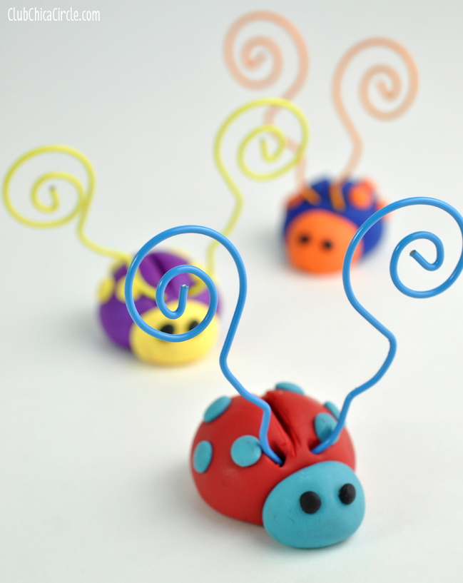 Mother's Day LOVE BUG clay craft idea