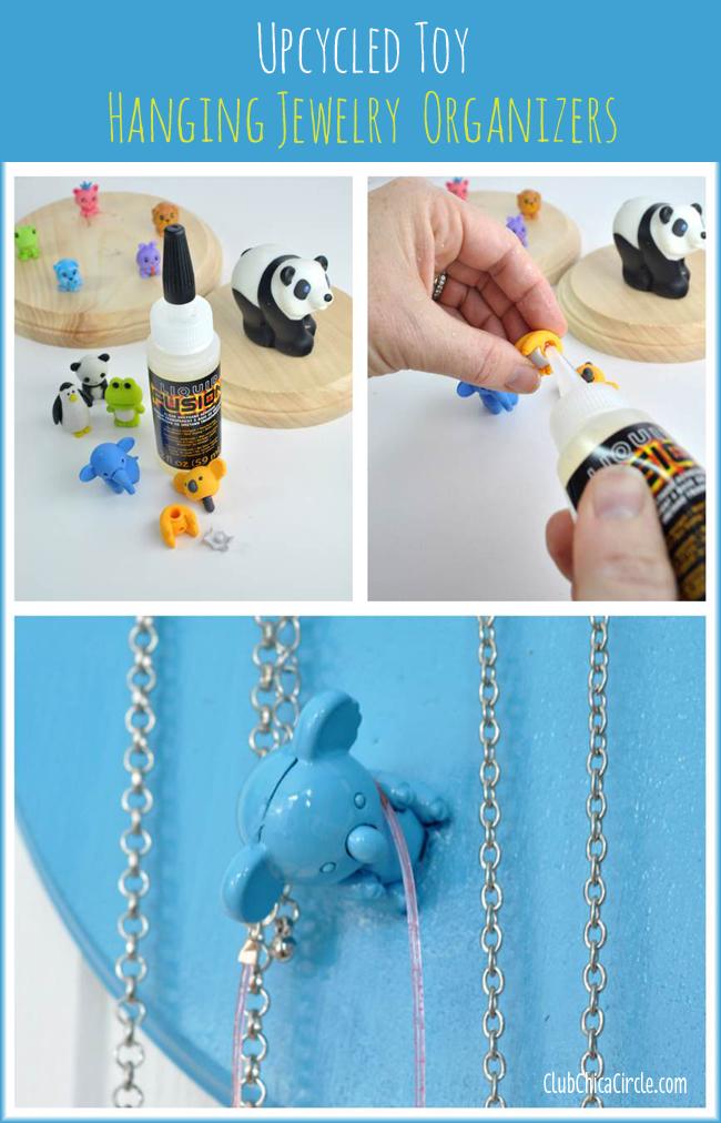 Upcycled Japanese Eraser Toy Hanging Jewelry Erasers