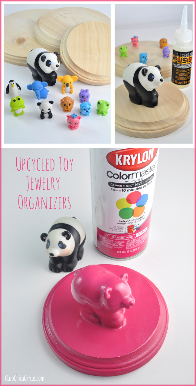 Upcycled Toy Hanging Organizers Craft
