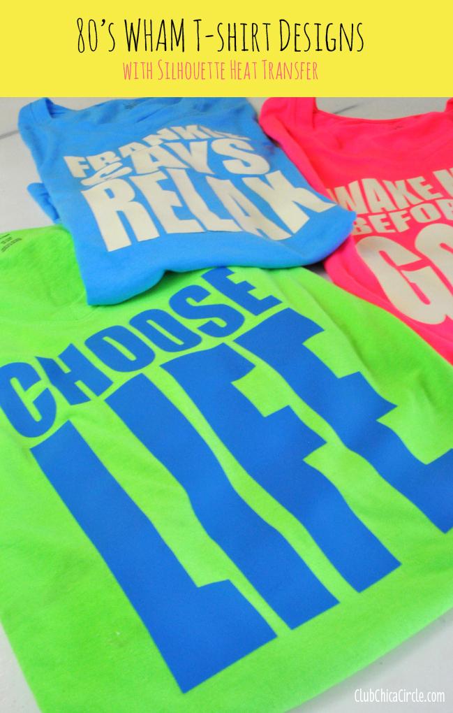 Make 80 39 S Wham Inspired Custom T Shirts