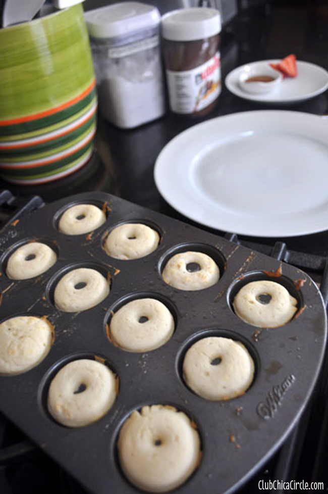 easy pancakes doughnuts