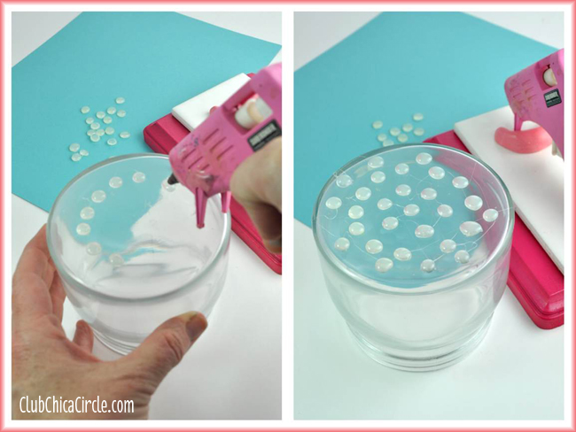 Homemade Enamel Dots Using A Glue Gun
