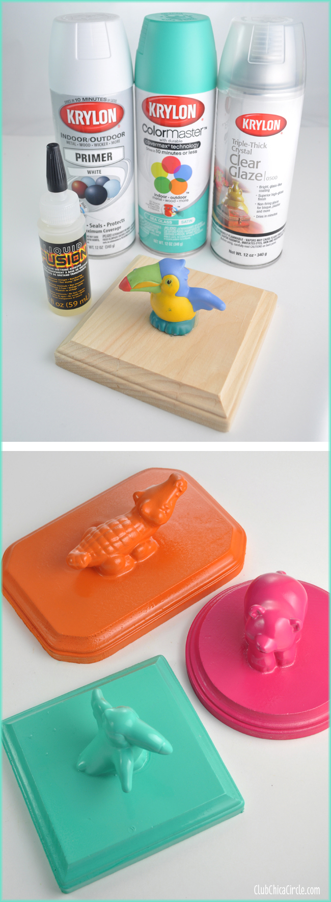 little people toy upcycled jewelry organizers