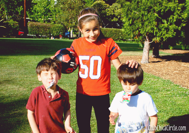 Sporty Tween and Twins make Game Day Great